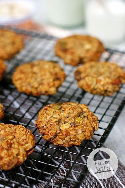 Feed Me Better: Dietetyczne ciastka owsiane bez mąki.
