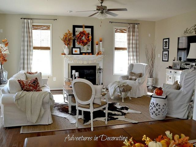 17 Best Ideas About Fall Living Room On Pinterest Living