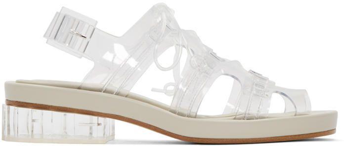 Simone Rocha Clear Jelly Sandals