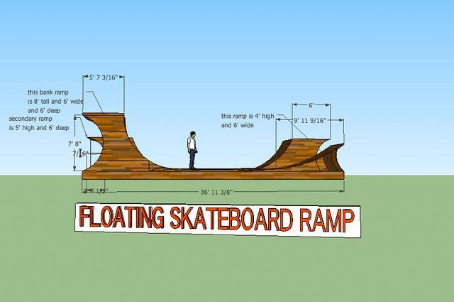 Floating Skateboard Ramp | DudeIWantThat.com