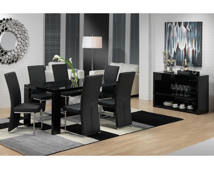 Dining Room Furniture The Bleecker II Collection Table