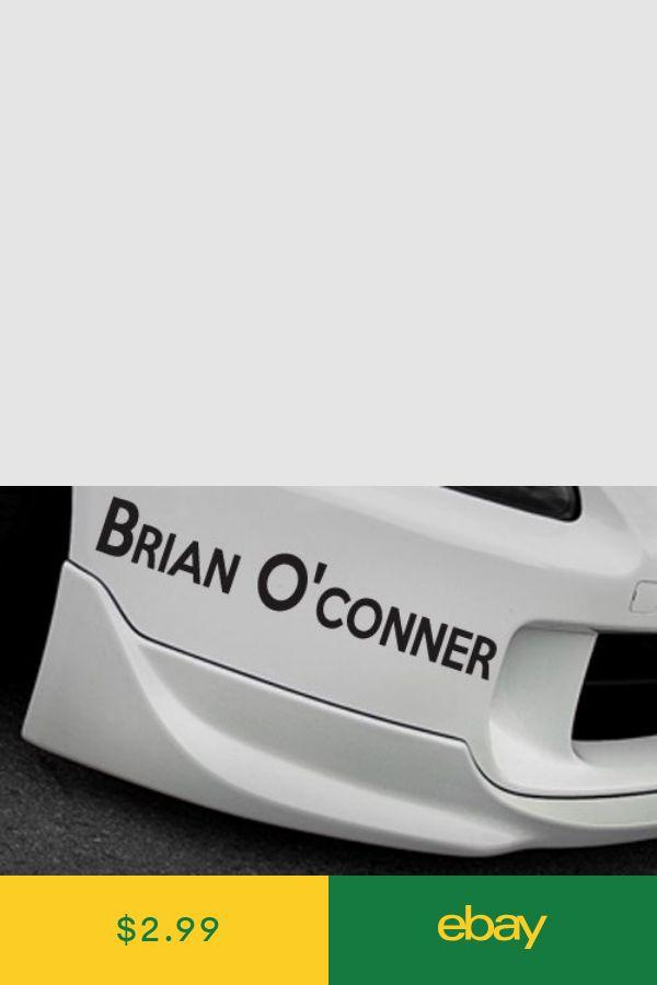 RIP Paul walker Brian O/'Conner fast and furious Euro JDM drift racing Sticker