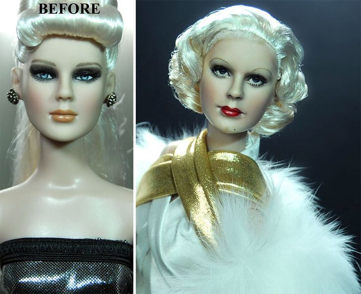 Best I Collect Celebrity Barbies You Can Too Images On - Artist repaints disney princesses to look more realistic with amazing results