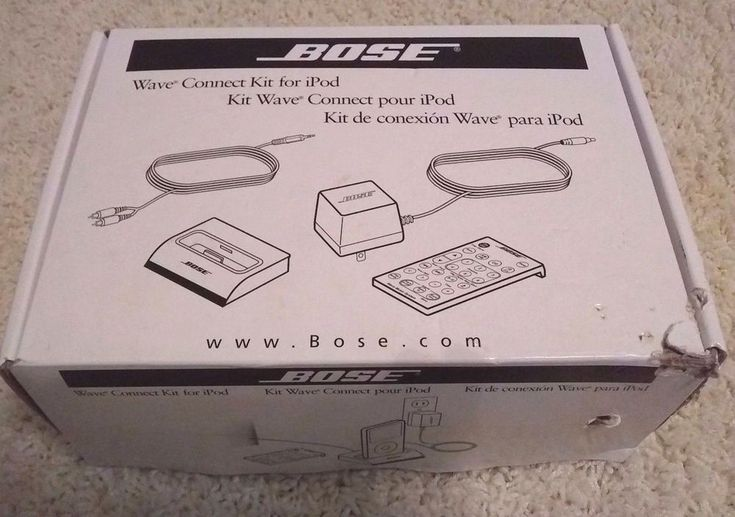 New Bose Wave Radio Connect Kit For IPod Remote Control