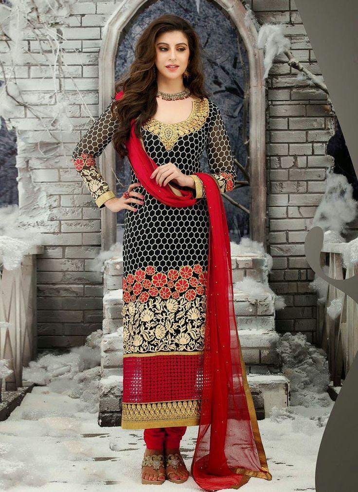 Fashion: Awesome Churidar Salwar Suits 2014