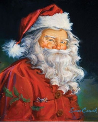 Santa-wonder if I could make a picture of my grandpa look like Santa.. I would love that!