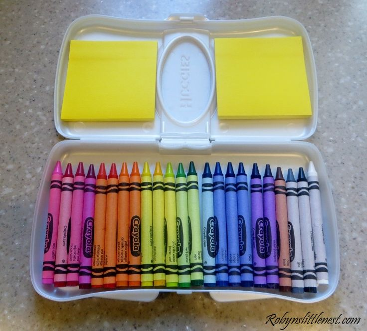 travel crayons- link party on A Bowl Full of Lemons Perfect size for the handbag & perfect time-killer when you need the kidlets to be invisible!!