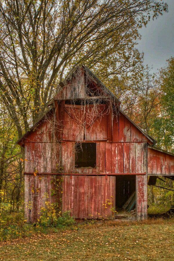 Abandoned barn...