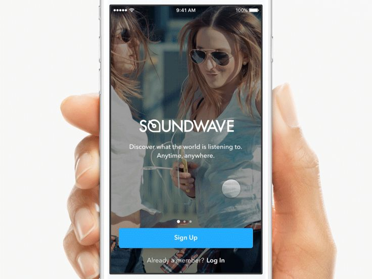 Soundwave Pre-Login by John Sherwin