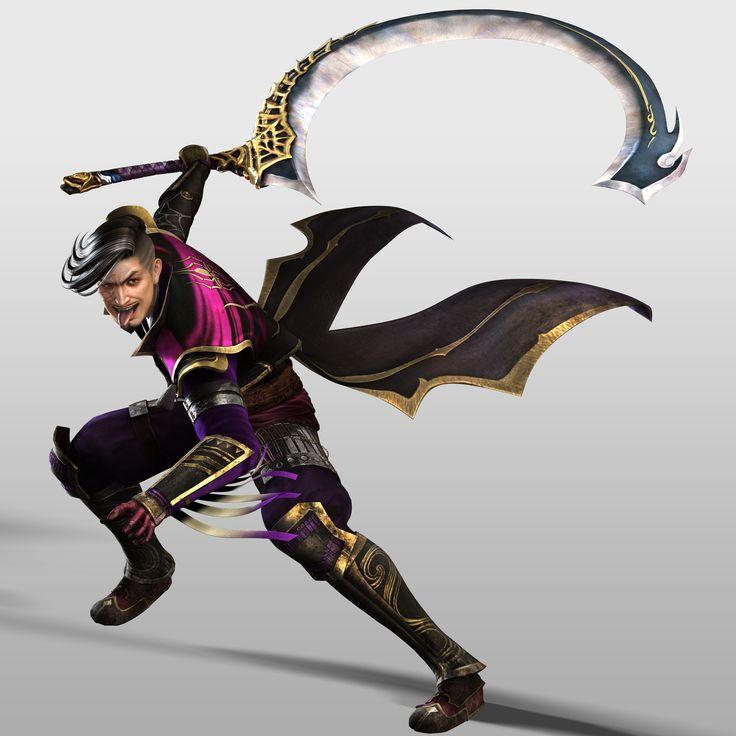 Hisahide en Samurai Warriors 4.
