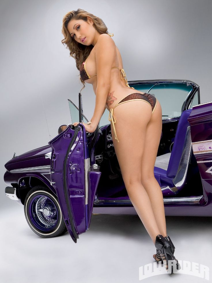1961 Chevrolet Impala Model Tanya Love Sexy Lowriders