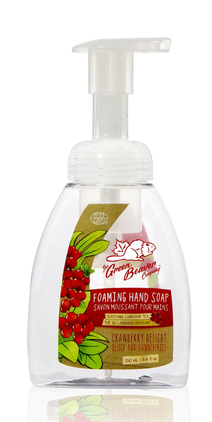 Cranberry Delight Foaming Hand Soap /// Savon moussant parfum délice de canneberges