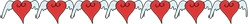 Winged Free Heart Clipart Borders from www.wonderweirded.com/heart-clipart-borders.html, for Wedding Hearts and Valentine's Hearts , Love Hearts Adorable !!!