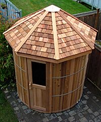 Cedar Barrel Sauna Kits and Outdoor Saunas | Forest Lumber