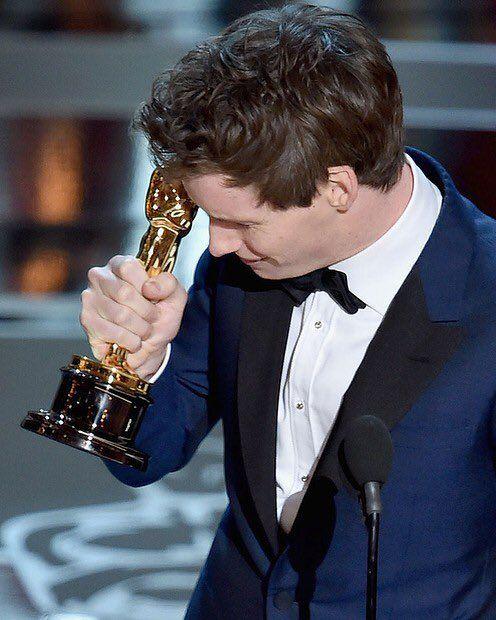 Eddie Redmayne, Best Actor (The Theory of Everything), 2015