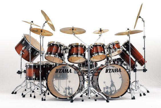 Simmon Phillips Tama Starclassic Bubinga/Maple Drum Kit