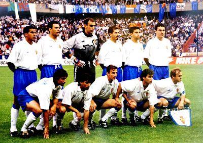 EQUIPOS DE FÚTBOL: REAL ZARAGOZA Campeón de la Recopa 1995