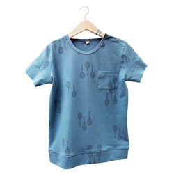 Rackets dusk-blue Tshirt-lötiekids