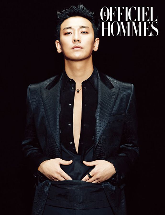 L'Officiel Hommes Introduces Joo Ji Hoon's Fatal Charm (UPDATED) | Couch Kimchi