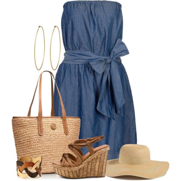 Summer Dress~, created by tammylo-12 on Polyvore
