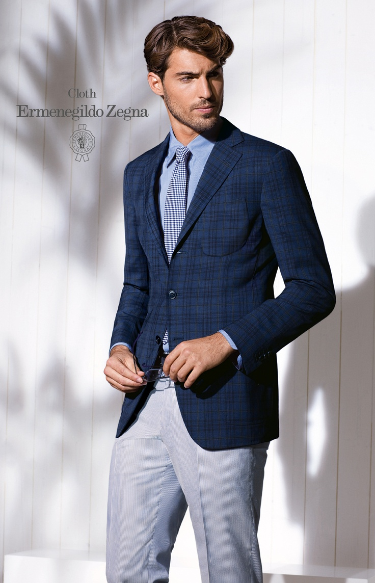 Zenonni bespoke jacket by Cloth Ermenegildo Zegna SS '12