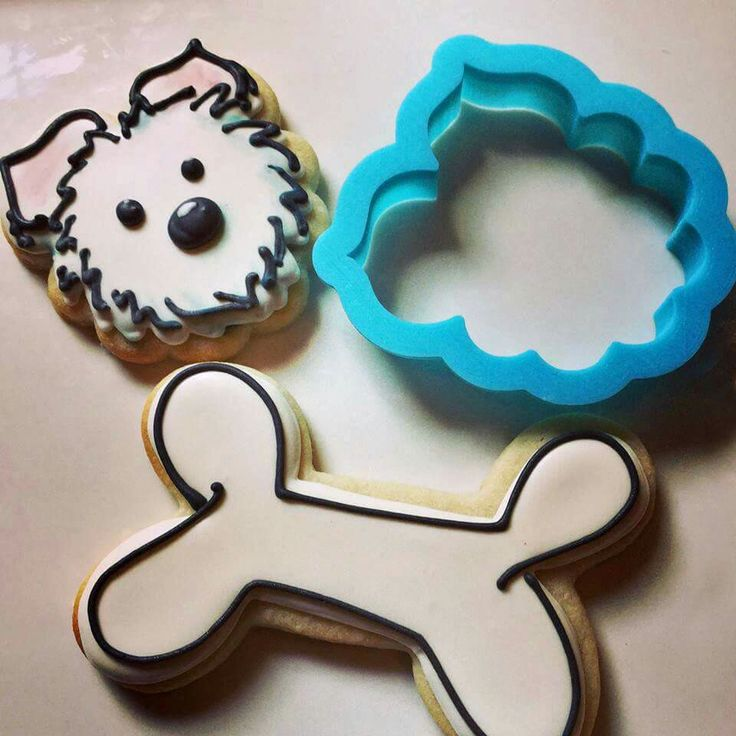 Cat And Dog Sugar Cookies