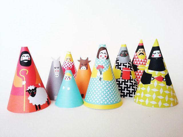 15 best ideas about cr che de noel on pinterest - Creche noel a fabriquer ...