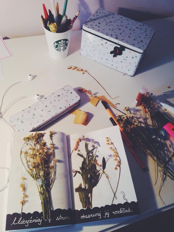 Podeslala Julia. #ZniszczTenDziennik #KeriSmith #Starbucks #kwiaty ...