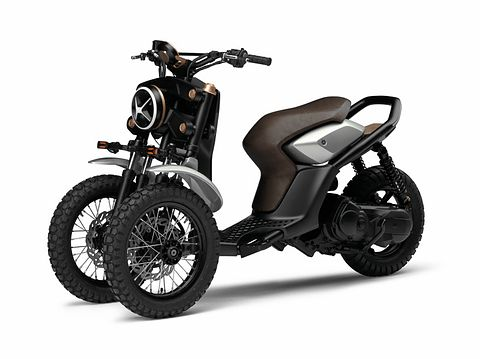 ヤマハ、三輪バイクのデザインコンセプト「03GEN-f」「03GEN-x」を公開 /Yamaha Concept 3 wheel motorcycle 03GEN-f & 03GEN-x