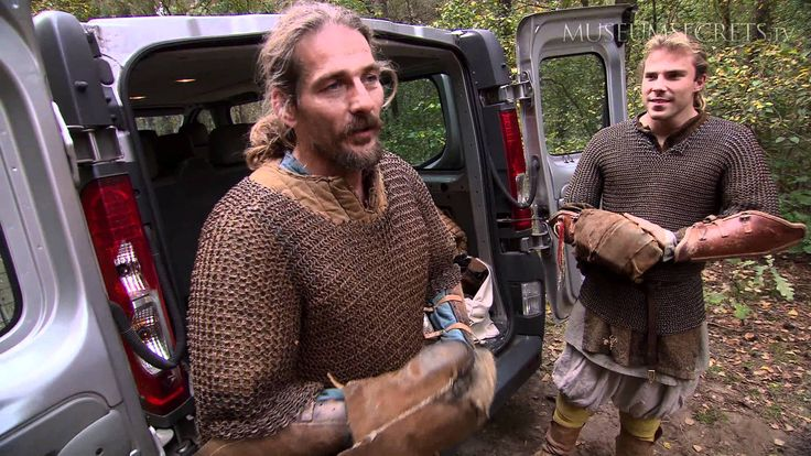 You Had to Be Strong Just to Wear the Armor as a Viking--professional fight choreographers talk about what it's like to wear chain mail.