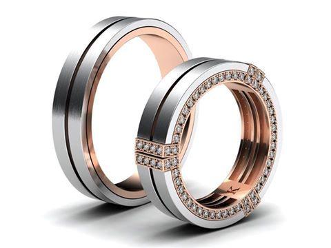 Mé úplně nejnovější snubní prsteny, které jsem dokončil včera. Nová kolekce, kterou chystám, bude zcela designově odlišná od klasických snubních prstenů. Máte se na co těšit :-) www.korbicka.com