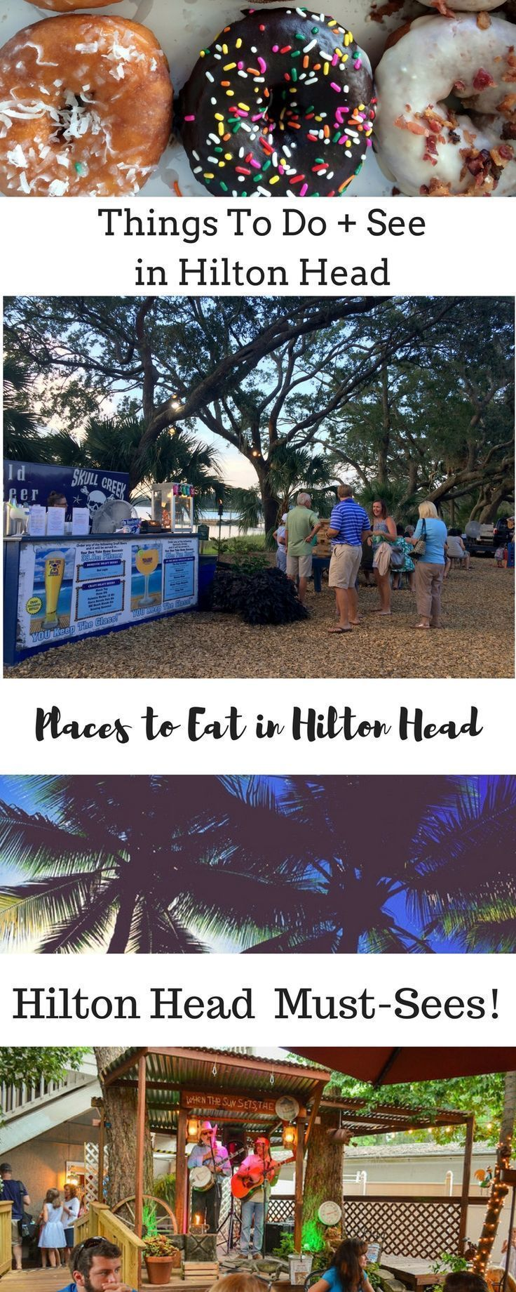 Explore Hilton Head Island South Carolina! Places to eat, Things to do, Best places to get a drink -- Plan your visit to Hilton Head, South Carolina.
