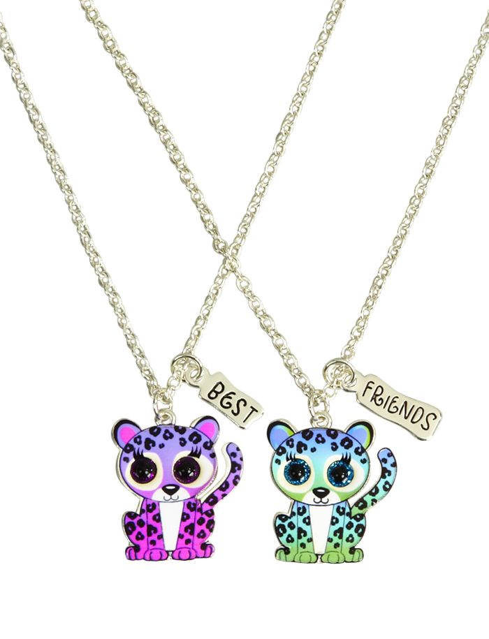 BFF Cheetah Necklaces   Animal Shop   Jewelry By Trend   Shop Justice