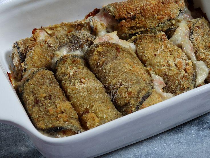 Involtini di melanzane cotti in forno, senza bisogno di friggere, cremosi, croccanti e super gustosi! Ecco la ricetta per realizzarli!