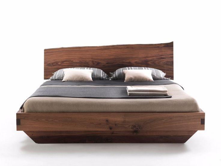 25 best ideas about wooden double bed on pinterest - Letto matrimoniale legno massello ...