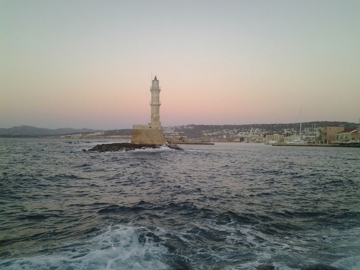 Old Town of Chania in Autumn