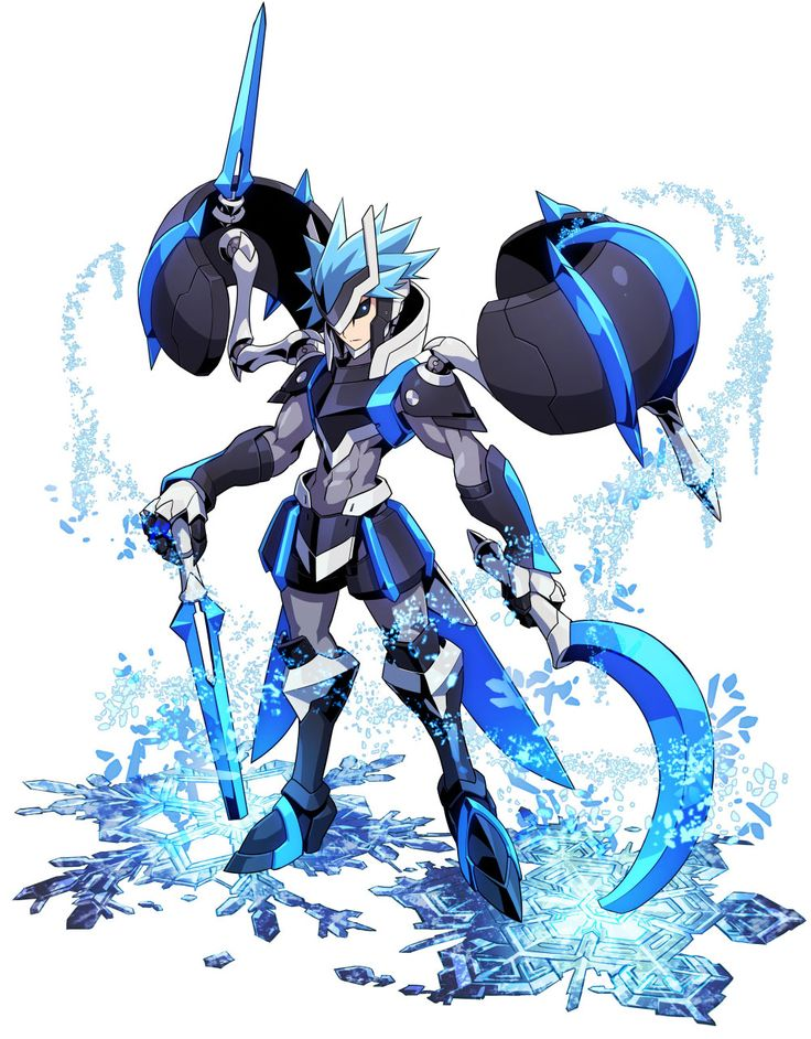 Tenjian Powered Up from Azure Striker Gunvolt 2