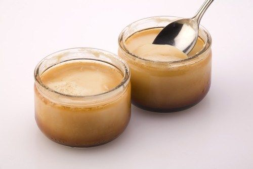 Печеный сливочный крем из кленового сиропа