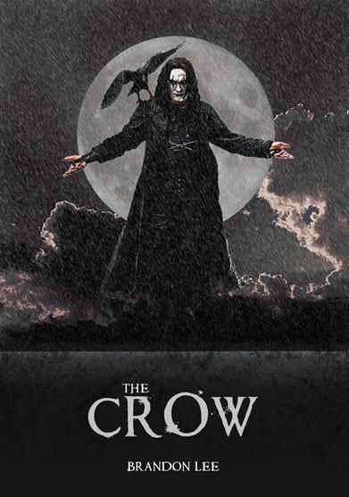 The Crow is a 1994 American supernatural action film directed by Alex Proyas, written by David J. Schow and John Shirley, and starring Brandon Lee in his final film appearance. Description from imgarcade.com. I searched for this on bing.com/images