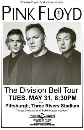 Pink Floyd Division Bell Tour Wisconsin