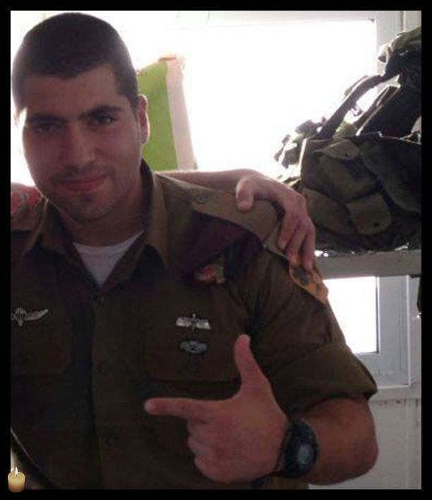 Sergeant Oz Mendelovich, 21, from Atzmon, was killed protecting the citizens of Israel. May his memory be blessed. Praying for his family.