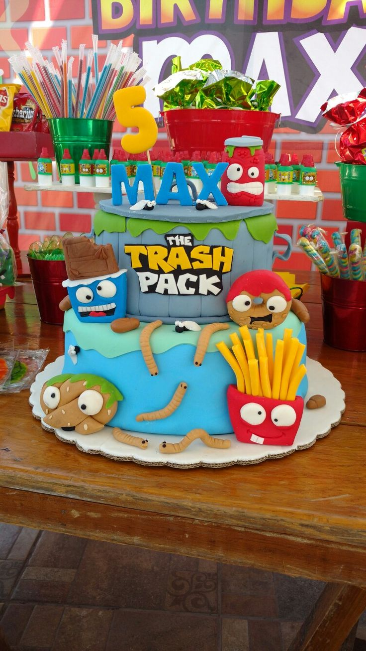 11 Best Grossery Gang Bday Party Images On Pinterest