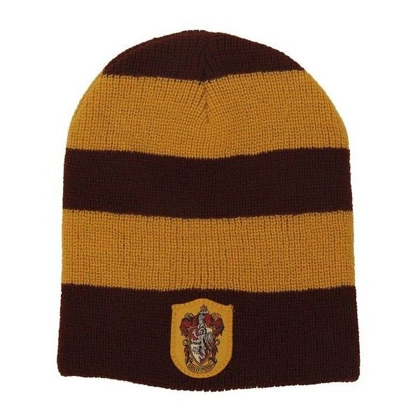 Gryffindor House Beanie: Amazon.ca: Clothing & Accessories ($18) ❤ liked on Polyvore featuring accessories, hats, beanie cap, beanie hats and beanie cap hat