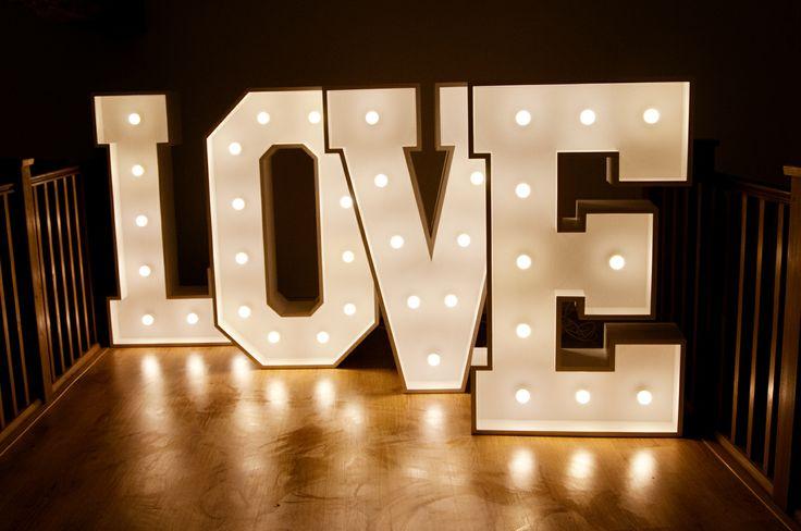 Light Up Letter For Hire. Marquee Lights Letter Lights