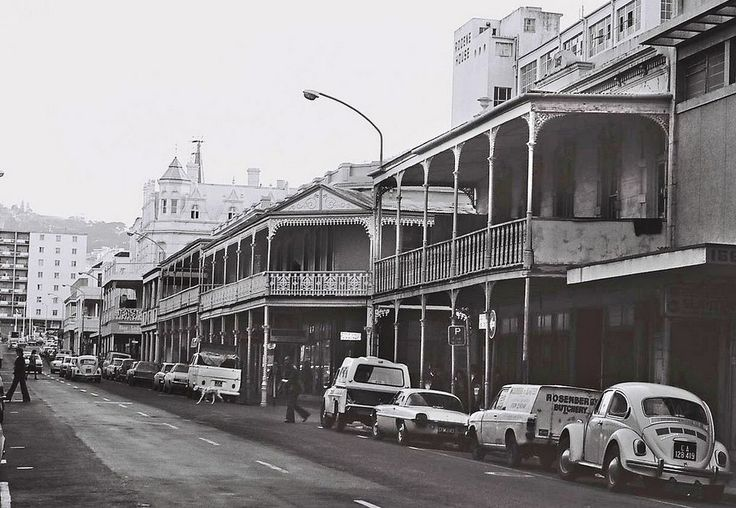 Long Street, Cape Town, South Africa, 1977