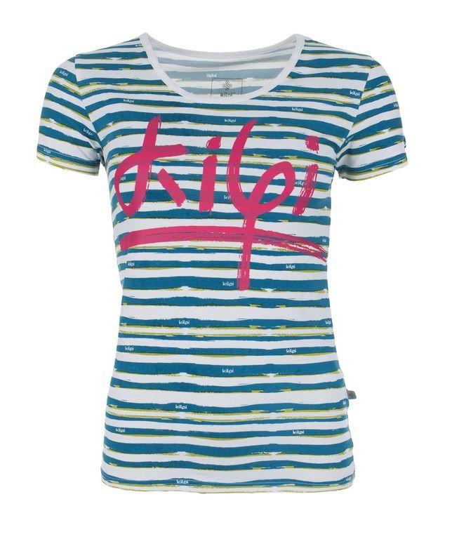 Women's T-shirt KILPI - ARAFA - dark blue