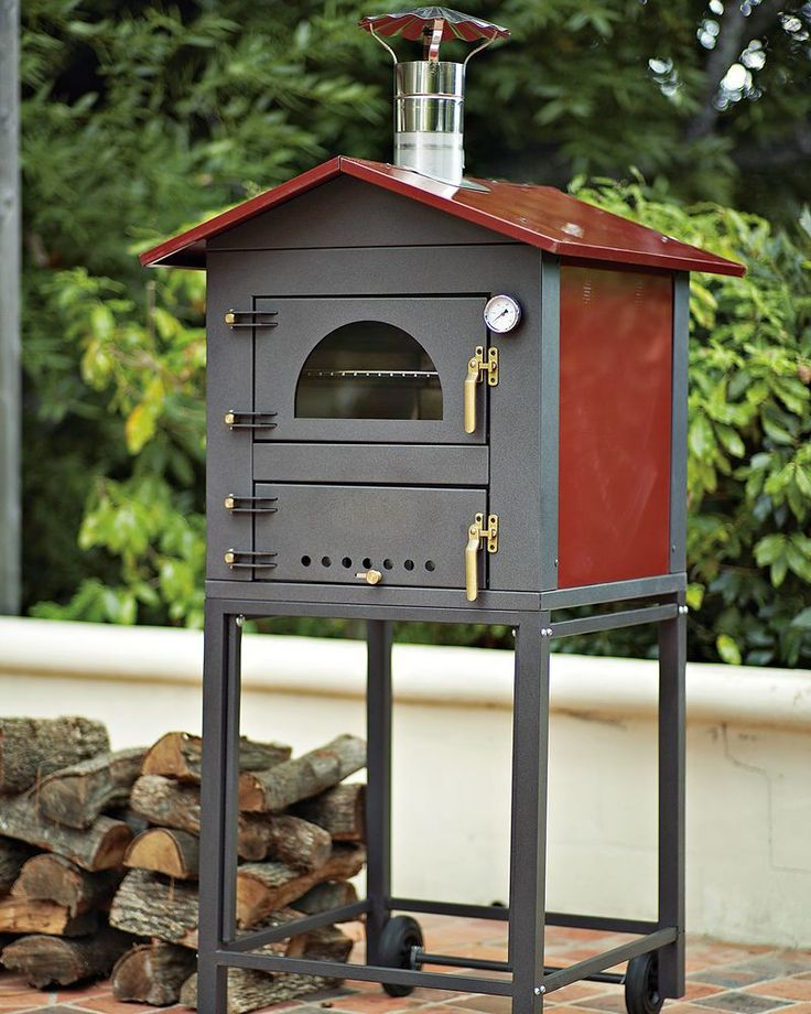 Wood Fired Oven, Wood Oven, Wood Fired Pizza, Outdoor Pizza Ovens, Outdoor  Oven, Outdoor Cooking, Outdoor Entertaining, Brick Ovens, Williams Sonoma