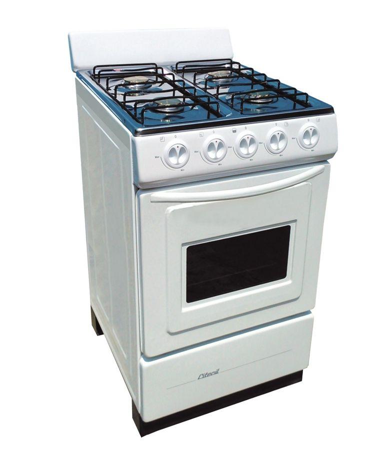 Cocina con horno 4 hornillas modelo cheff mesa acero - Cocinas de gas natural con horno ...