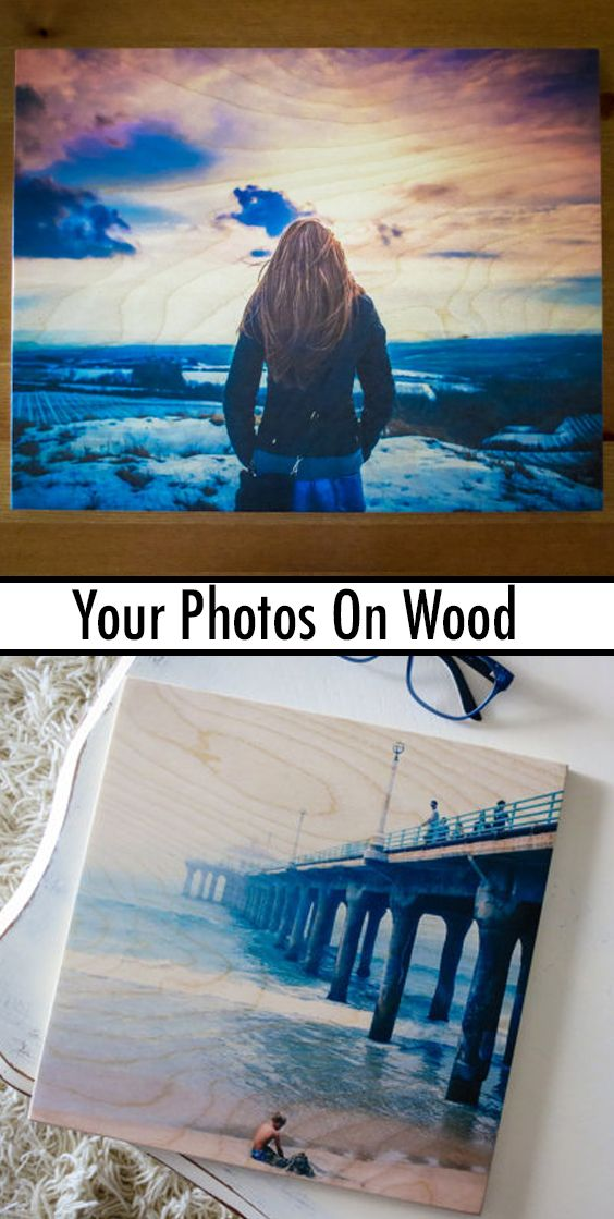 Custom #photo on wood is a wonderful way to help you forget the frame & keep the awesomeness - with this clean way to display your images. #Photography