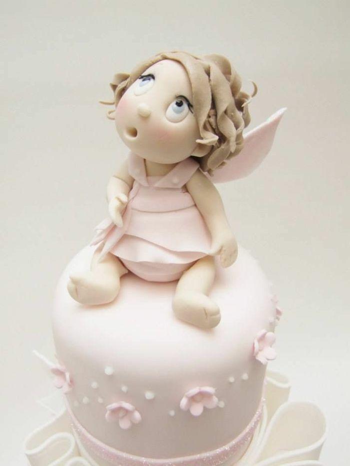 Engel-Figur-Torte-rosa-zärtlich-kindisch